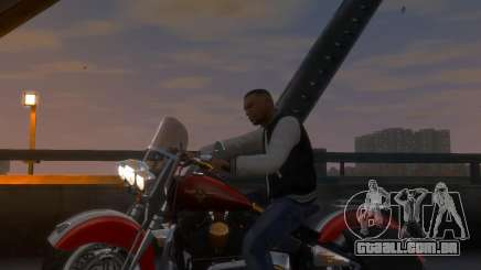 Harley-Davidson Fat Boy Lo (Vintage final) para GTA 4
