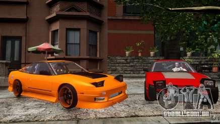 Nissan 240SX Korch para GTA 4
