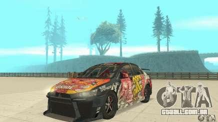 Mitsubishi Lancer EVO Ryo para GTA San Andreas