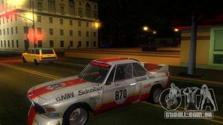 BMW CSL E9 para GTA San Andreas