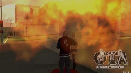 CLEO mod: renovação de pedestres v 1.0 para GTA San Andreas