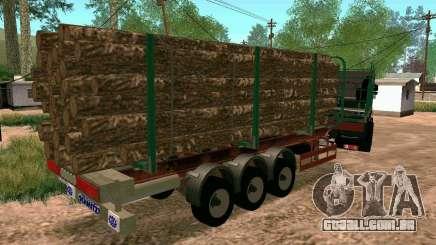 Trailer de Kamaz 65117 para GTA San Andreas