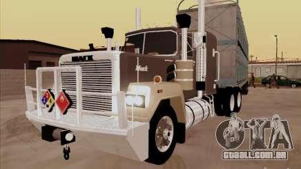 Mack RoadTrain para GTA San Andreas