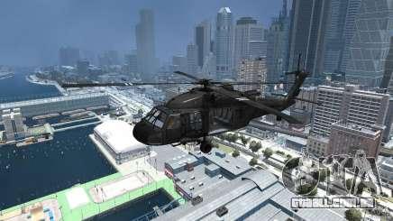 Sikorsky UH-60 Black Hawk para GTA 4