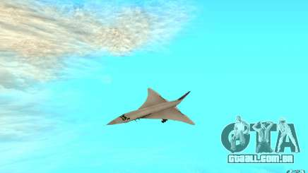 Concorde Air France para GTA San Andreas