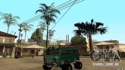 Pão de UAZ de difícil Off-Road para GTA San Andreas