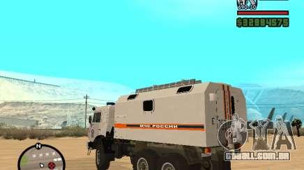 Kamaz MOE para GTA San Andreas