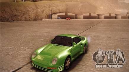 O Porsche 959 1987 Oliva para GTA San Andreas