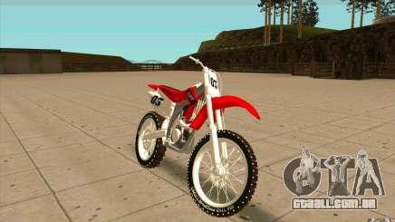 Honda CRF450R Extreme Edition FINAL para GTA San Andreas
