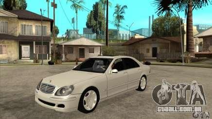 Mercedes Benz S600 para GTA San Andreas