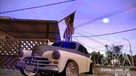 GAZ m 20 vencendo 1956 para GTA San Andreas