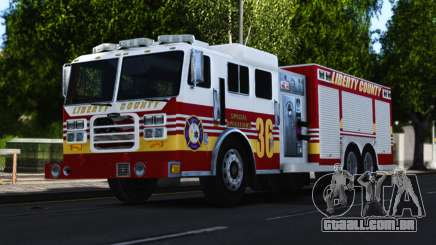 Pierce Heavy Rescue Pumper V1.4 para GTA 4