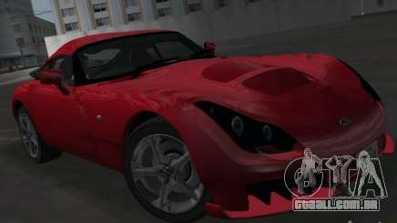 TVR Sagaris para GTA Vice City