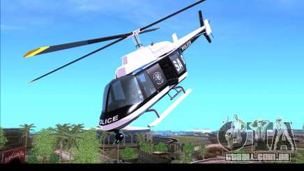GTA IV Police Helicopter para GTA San Andreas