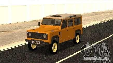 Land Rover Defender 110 para GTA San Andreas