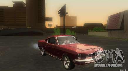 Shelby GT500KR para GTA San Andreas