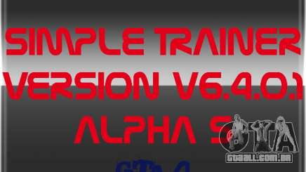 Simple Trainer Version v6.4.0.1 alpha 5 para GTA 4