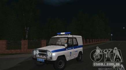 UAZ-31512 polícia para GTA San Andreas