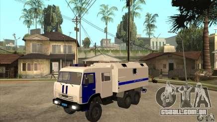 Polícia Kamaz para GTA San Andreas