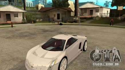 Cadillac Cem branco para GTA San Andreas