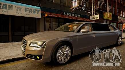 Audi A8 limousine para GTA 4