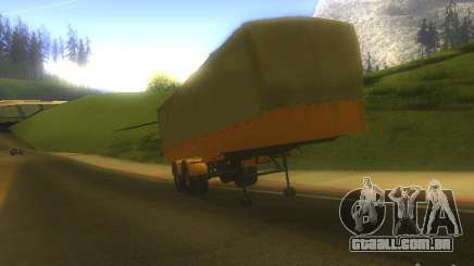 Reboque MAZ 5205 para GTA San Andreas