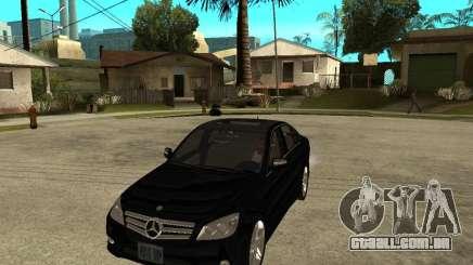 Mercedes Benz C350 W204 Avantgarde para GTA San Andreas