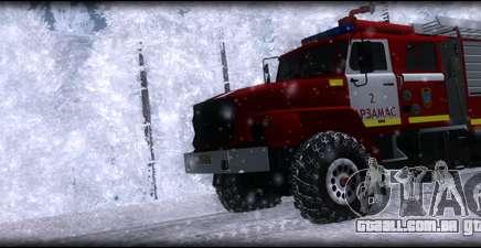 Ural 43206 AC 3.0-40 para GTA San Andreas
