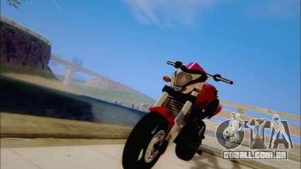 Honda CB600F Hornet 2012 para GTA San Andreas