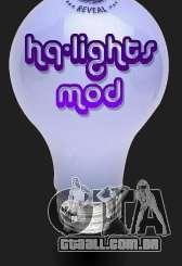 High Quality Lights Mod v2.0 - HQLM v 2.0 para GTA San Andreas
