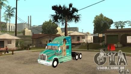 Peterbilt 387 pele 4 para GTA San Andreas