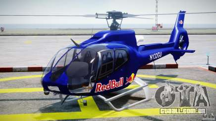 Eurocopter EC130 B4 Red Bull para GTA 4
