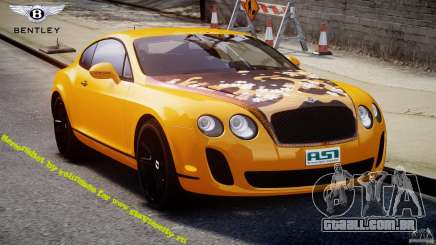 Bentley Continental SS 2010 ASI Gold [EPM] para GTA 4