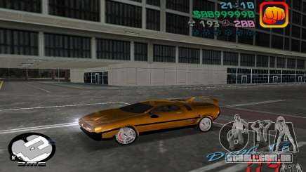 Delorean DMC-13 para GTA Vice City
