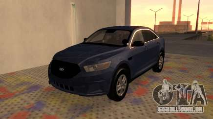 Ford Taurus Interceptor Unmarked 2013 para GTA San Andreas
