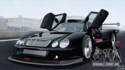 Mercedes-Benz CLK GTR Race Car para GTA San Andreas