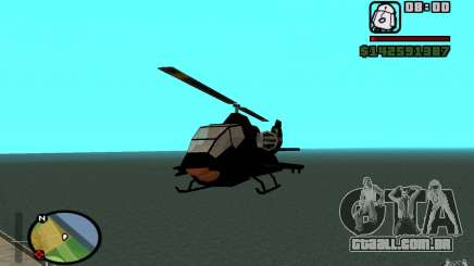 Urban Strike helicopter para GTA San Andreas
