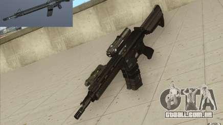 Carabina HK416 para GTA San Andreas