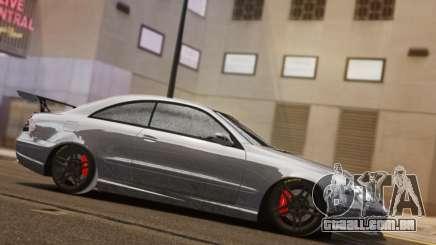 Mercedes-Benz CLK 63 AMG Black Series para GTA 4
