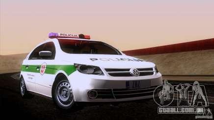 Volkswagen Voyage Policija para GTA San Andreas