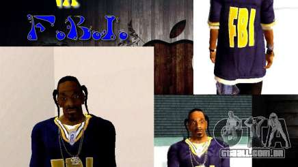 Snoop DoG do FBI. para GTA San Andreas