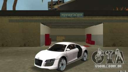 Audi R8 Le Mans para GTA Vice City