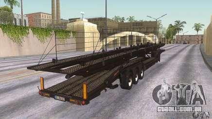 O caminhão de reboque para GTA San Andreas