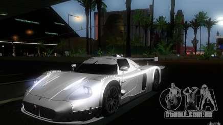 Maserati MC12 GT1 para GTA San Andreas