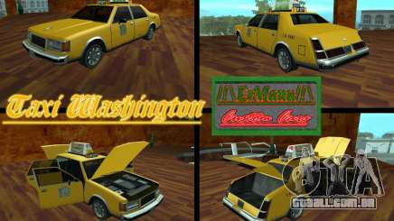 Taxi Washington para GTA San Andreas