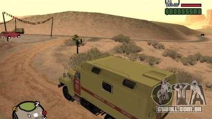 ZIL 130 Gorsvet do turno da noite para GTA San Andreas