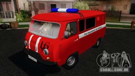 UAZ 3909 fogo para GTA San Andreas