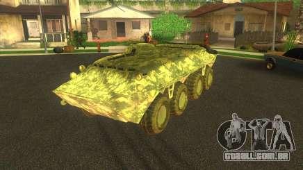 Camuflagem eletrônica BTR-70 para GTA San Andreas