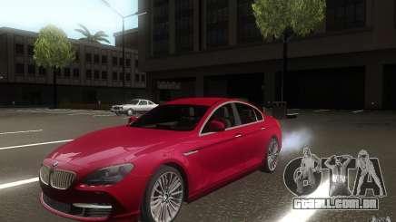 BMW 6 Series Gran Coupe 2013 para GTA San Andreas