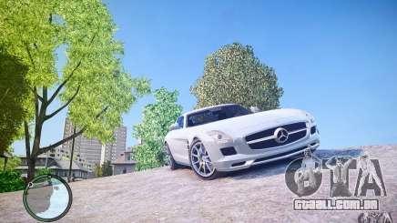 Mercedes-Benz SLS63 AMG para GTA 4